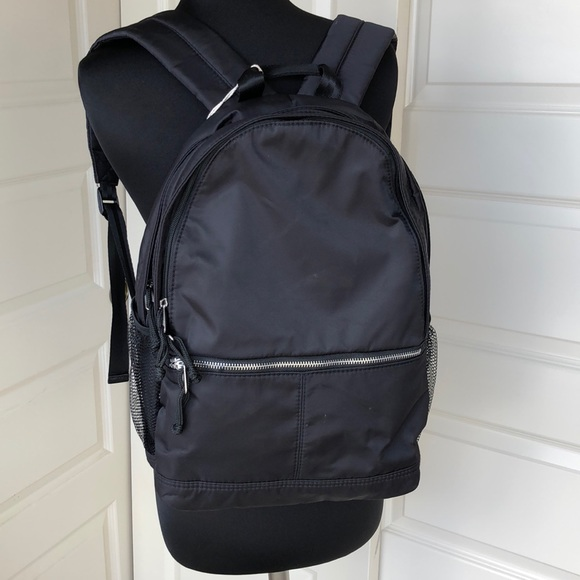 2fd9dd91772 Mossimo Supply Co Black Nylon Large Backpack Boutique